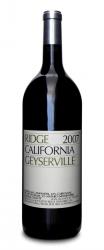 Ridge Zinfandel Geyserville 2007  - Magnum