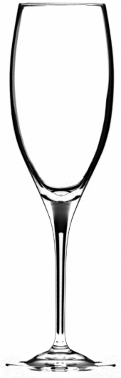 Taça Champagne Cuvée Prestige - Kit com 2 taças - Linha Vinum