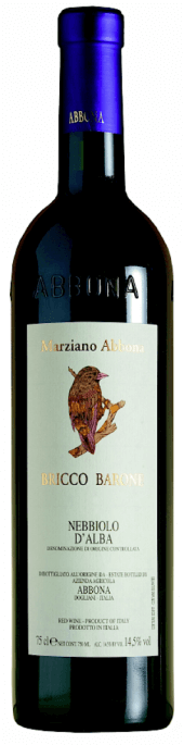 Nebbiolo d'Alba Bricco Barone 2016